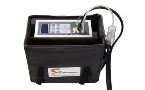 Portable Industrial Flue Gas & Emissions Analyzer E5500