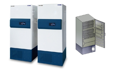 Bio Medical Freezer (Up right) Labtech