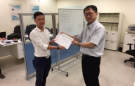 TECOTEC technician participated in intensive training for PDA-7000