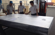 TECOTEC GROUP handed Anti-vibration table RHS-2415K5 for Fujikura Fiber Optics Co., Ltd Vietnam