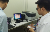 TECOTEC Group delivery EDX-LE  X-Ray Fluorescence Spectrometry for Sindoh Vina