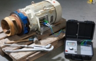 Solution for testing and analyzing motors
