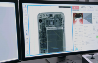 Quality control process of smart phone in Samsung  Application of Shimadzu's SMX-225CT FPD HR system