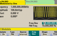 WAVEFORM MODULATION WITH YOUR FUNCTION GENERATOR