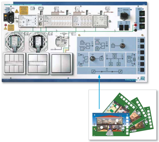 Knx Installation Bus System Model 41 220 Knx Professional