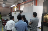 Training and Testing of electrochemical machining center PEM600 for Production and Mechanical Engineering lab in Vietnamese – German University.